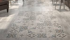 geotiles passage patterned floor tiles