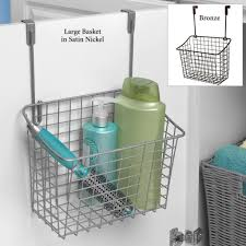 Bathroom Storage Shelves With Baskets by Bathroom Traditional Hanging Wicker Bathroom Storage Basket