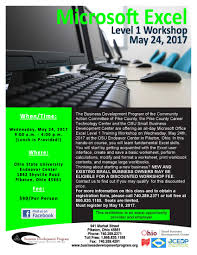 Piketon Ohio Map by 5 24 2017 Microsoft Excel Level 1 Workshop Osu South Centers