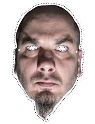 mike myers halloween mask still need a halloween costume try these heavy metal cut out