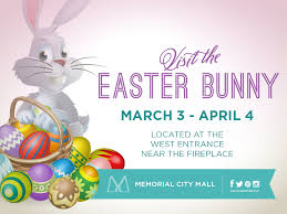 the easter bunny at memorial city mall the buzz magazines