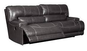 sofa match ashley furniture mccaskill gray leather match uph two seat