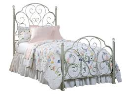 Bedrooms With Metal Beds Hailey 6 Pc Twin Bedroom On Sale