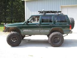 lifted jeep cherokee xj tire size and lift w pics