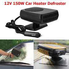 automotive heater defroster fan 12v 150w auto car heater fan defroster demister 2 in 1 portable car
