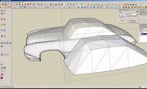 tutorial sketchup modeling realtime tutorial how to model a car in sketchup