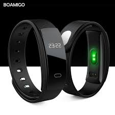 bracelet wristband images Smart watches boamigo brand bracelet wristband bluetooth heart jpg