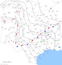 Midland Texas Map May 24 1957 Tornado Outbreak