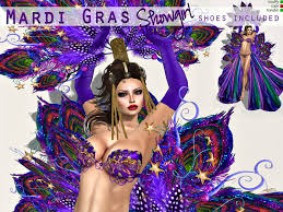 mardi gras items second marketplace mardi gras showgirl omega applier