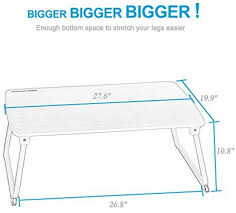 Bed Trays With Legs Portable Extra Large Laptop Standing Desk Superjare Bed Tray