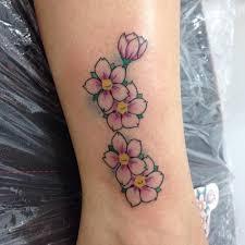 55 cherry blossom tattoos ideas