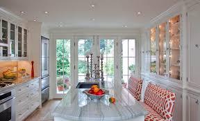 Kitchen Kitchen Curtain Sets Standard by White Macaubas Quartzite Kitchen Contemporary With Wood Floor