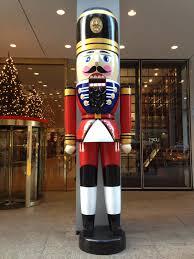 downtown decorations inc oversized 12ft fiberglass nutcracker
