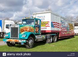 kenworth trucks uk truck from uncle sam u0027s american circus nottingham england uk