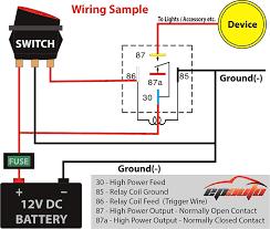 automotive 5 wire relay wiring diagram automotive wiring diagrams