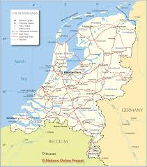 Rail Map Of Europe by Http Www Nationsonline Org Maps Netherlands Map Jpg Shows Rail