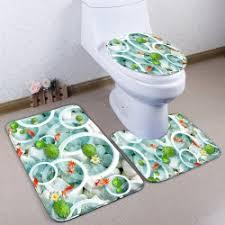 3pcs toilet mats cheap online sale at wholesale prices