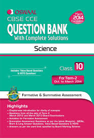 cbse cce question bank with complete solutions science for term