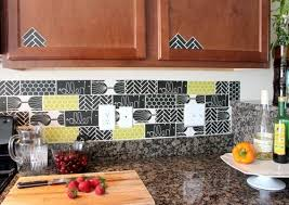 kitchen backsplash ideas diy unique and inexpensive diy kitchen backsplash ideas you need to