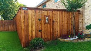 Types Of Garden Fences - denton fence companies lifetime fence fences companies denton tx