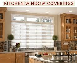 window ideas for kitchen kitchen window coverings