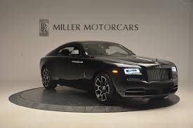 black rolls royce 2017 rolls royce wraith black badge stock r425 for sale near