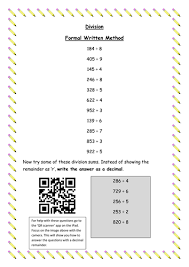 division bus stop method by chapso teaching resources tes