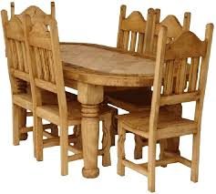 Mexican Dining Room Furniture Dining Table Pine Counter Height Dining Table Set White And Pine