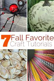 7 favorite fall craft tutorials the crafty blog stalker