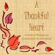 a month of learning to be thankful a monthlong series of family