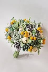 billy balls alternative wedding bouquet keepsake handmade succulent billy