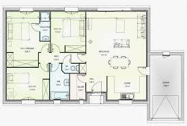 plan de maison plein pied gratuit 3 chambres plan maison plein pied gratuit beau plan maison plain pied 150m2
