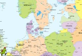 map of n europe map of n europe major tourist attractions maps