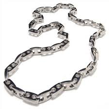 titanium link necklace images 20 1 inch titanium anchor chain necklace 8083 titanium jewelry shop jpg