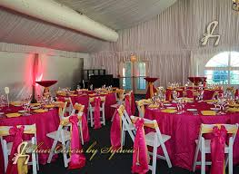 fuschia pink table cloth chicago table linens for rental in fuschia in the pin tuck fabric