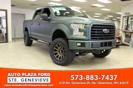 auto plaza ford 2017 ford f 150 4wd xlt supercrew for sale in ste genevieve