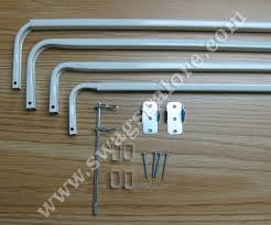 double corner window curtain rod kirsch drapery hardware
