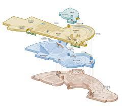 Museum Floor Plan Museum Floorplan Illustration