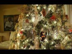 Decorate Christmas Tree Youtube by Christmas Decorating Tour 2015 Woodsy But Glamorous Christmas