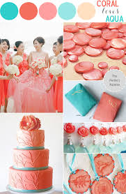 color story coral loves aqua the perfect palette