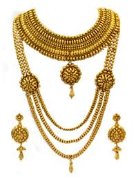 gold bridal set buy antique gold indian bridal set online