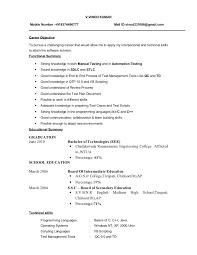 Successful Resume Template Excellent Resume Format Resume Ideas