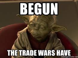 Yoda Meme Maker - begun the trade wars have very disappointed yoda meme generator
