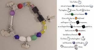prayer bracelet images Beaded story bracelets the lord 39 s prayer bracelet boxed by roman jpg
