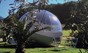 bulle chambre les chambres bulles du chateau de belvize à bize minervois