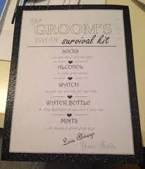wedding gift kits best 25 groom survival kits ideas on groom gifts