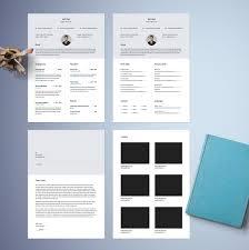 Free Designer Resume Templates Free Classy Resume Template Free Design Resources