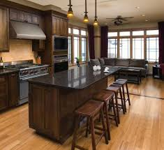 best color to paint kitchen with cherry cabinets favorite granite counters to top cherry wood cabinetry