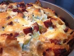 bon plat a cuisiner cuisine ma ligne gratin de pâtes crémeux chorizo poireaux