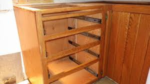 Kitchen Upgrade  New Drawer Slides Windy Weather - Kitchen cabinet drawer rails